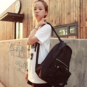 [알슨]ARSON - Basic Big Bag AB-0901 (Black) 백팩