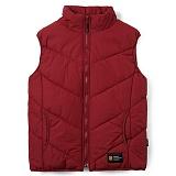 [언디핏]UNDEFEATED - 09 Padding Vest (Wine) 패딩베스트 패딩조끼