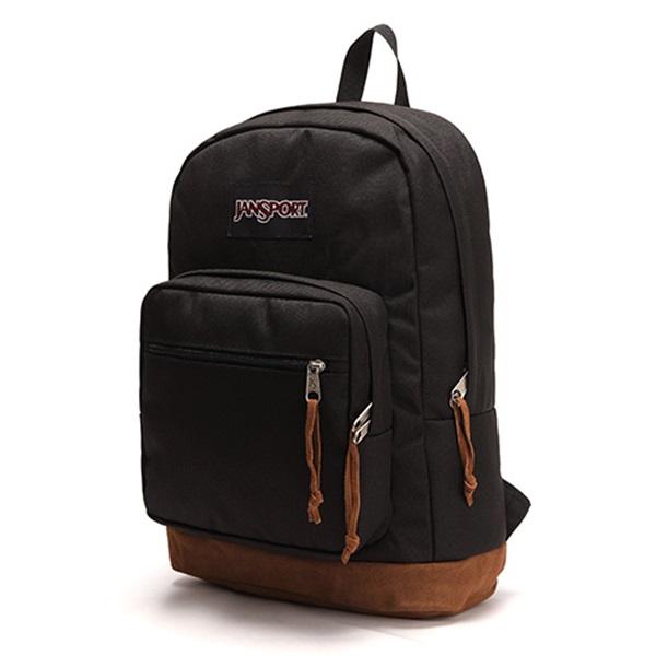 [잔스포츠]JANSPORT - 라이트팩 오리지널 (TYP7008 - Black) 잔스포츠코리아 정품 AS가능 백팩 가방 스쿨백 데이백 데일리백
