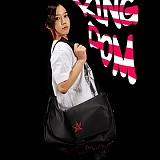 [�θ�ƽũ���]ROMANTIC CROWN - Kingdom X Bag (Black+Pink)