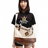[�θ�ƽũ���]ROMANTIC CROWN - Camo roll top X bag (Beige)