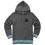 [������]STUSSY - SUPREME LINE Campus Sport Hoodie 018977 (Charcoal) �ĵ�Ƽ