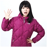 [노스페이스]The North Face - Girls Reversible Down Moondoggy Jacket 550Fill AMGA520 (Orchid Purplr 패딩 점퍼