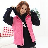 [노스페이스]The North Face - Girls Aconcagua Vest 550Fill AMZXBJ7 (Utterly Pink) 패딩조끼 패딩베스트