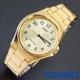 [카시오]CASIO - BASIC Metal (Yellow Gold) - 남성용_한국본사정품_본사A/S가능 인기 시계