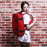 [�θ�ƽũ���]ROMANTIC CROWN - Challenge Backpack (Red)