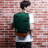[�θ�ƽũ���]ROMANTIC CROWN - Challenge Backpack (Green)