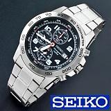 SEIKO - SEIKO Luxury SilverBlack