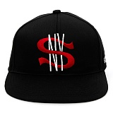 [스컬엔와이]SKULL NY BLACK LABEL SNY CITY CAP (BLACK) 라벨 시티 스냅백