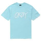 ��1���̺�Ʈ��[������]STUSSY - SS OKAY TEE (SKY BLUE) ����Ƽ
