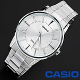 [카시오]CASIO - CLASSIC Metal White - 남성용_한국본사정품_본사A/S가능 인기 시계