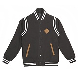 [로맨틱크라운]ROMANTIC CROWN - Noir Baseball Jacket (Black)