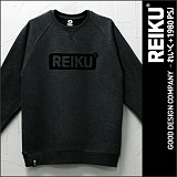 주문폭주★[레이쿠]REIKU - roundbox logo mtm_darkgray 쭈리 맨투맨