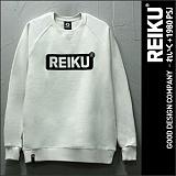 ★주문폭주★[레이쿠]REIKU - roundbox logo mtm_ivorywhite 쭈리 맨투맨