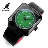 [캉골]KANGOL - 멀티손목시계 KG11009-GREEN 가죽밴드 시계