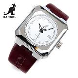 [캉골]KANGOL - 멀티손목시계 KG11009-SILVER 가죽밴드 시계