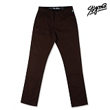 STIGMA - JUPITER CHINO PANTS BROWN