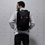 [�θ�ƽũ���]ROMANTIC CROWN - Logical Backpack (Black)
