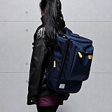 [�θ�ƽũ���]ROMANTIC CROWN - Logical Backpack (Navy)