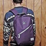 [�θ�ƽũ���]ROMANTIC CROWN - CROWN DAY BAG (Purple)