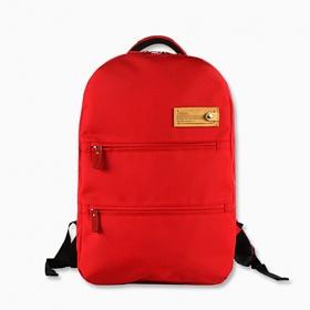 [바투카]VATUKA - Modern Square Backpack (red) 바투카 노트북 가방 백팩