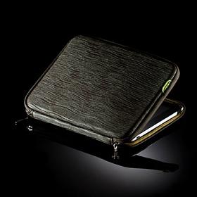 [바투카]VATUKA - Trendy Wrinkle Notebook Pouch 12.1 inch (khaki) 바투카 노트북 파우치 12인치