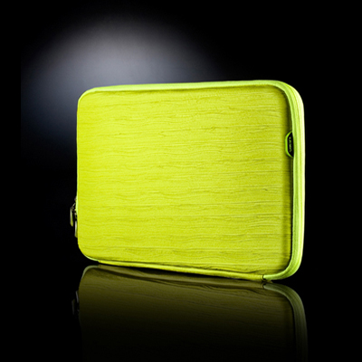 [바투카]VATUKA - Trendy Wrinkle Notebook Pouch 12.1 inch (lime) 바투카 노트북 파우치 12인치