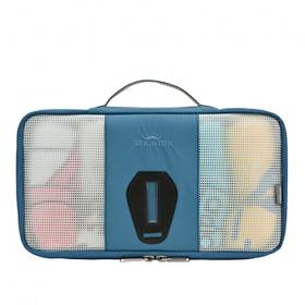 [브라이튼]brighton-BT-7660 가로형 의류정리 단면웨어백(Blue)