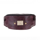 [�θ�ƽũ���]ROMANTIC CROWN - Snake Waist Bag (Wine)