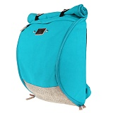 [�θ�ƽũ���]ROMANTIC CROWN - Blueprint Backpack (Mint)
