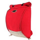 [�θ�ƽũ���]ROMANTIC CROWN - Blueprint Backpack (Red)