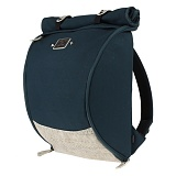 ROMANTIC CROWN - Blueprint Backpack (Navy)
