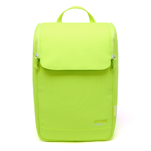 [에이치티엠엘]HTML - W7 Backpack (Neon Green) + Waterproof Pack S_백팩