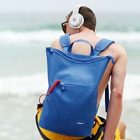 [에이치티엠엘]HTML - W6 Backpack (Blue) + Waterproof Pack L