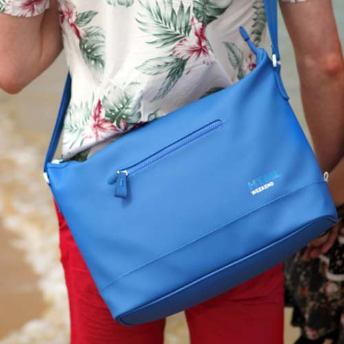 [에이치티엠엘]HTML - W4 Messengerbag (Blue) + Waterproof Pack S_크로스백