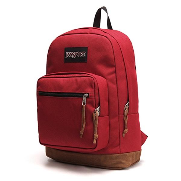 [잔스포츠]JANSPORT - 라이트팩 오리지널 (TYP79FL - Viking Red) 잔스포츠코리아 정품 AS가능 백팩 가방 스쿨백 데이백 데일리백