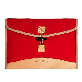 [디얼스]THE EARTH - CANVAS MULTI SLEEVE BAG (Red) 슬리브 클러치 손가방