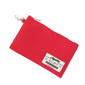 어거스핀 - FABRIC POUCH (Red) 파우치 필통