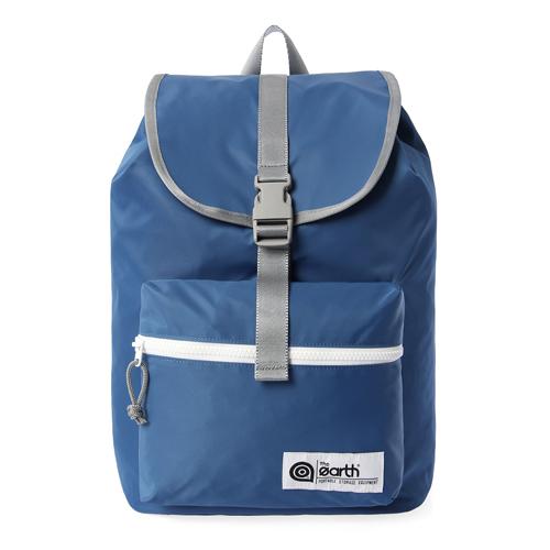[디얼스]THE EARTH - NYLON 1-POCKET BACKPACK - BLUE 가방 백팩