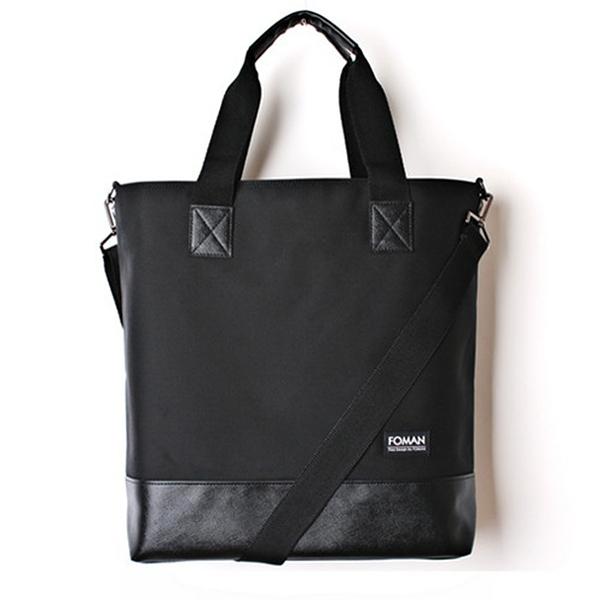[제너]JENNER - leather tote bag -all black 초히트 크로스백