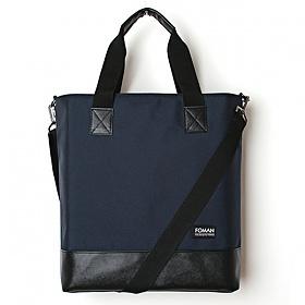 [제너]JENNER - leather tote bag -dark navy-
