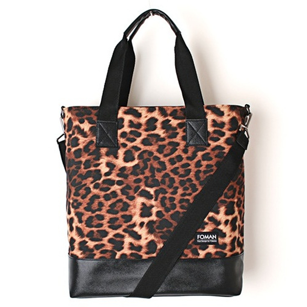 [제너]JENNER - leather tote bag [leopard]