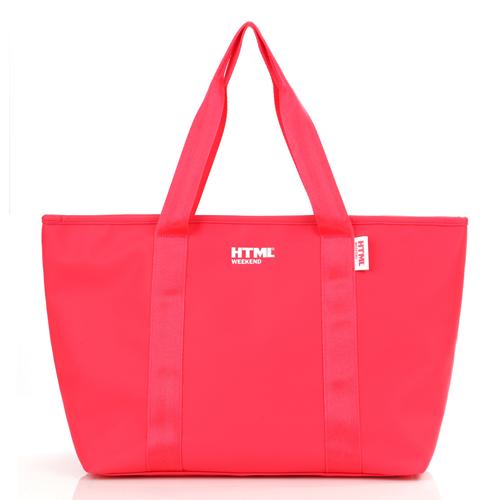 [에이치티엠엘]HTML - W5 tote bag (Neon Pink) + Waterproof Pack S