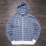 [TWLV]Zip-Up Hood (blue)