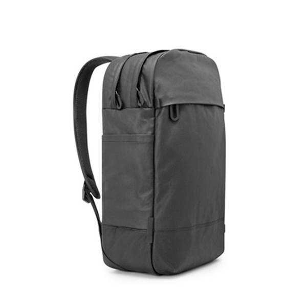 [레인커버 증정][인케이스]INCASE - Leather and Canvas Campus Backpack CL55490 (Black) 인케이스코리아 정품 AS가능