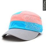옐로우스톤-stitch military cap [yscap003-pinkblue]