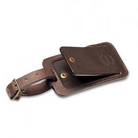 [필슨]FILSON - LEATHER LUGGAGE TAG 70219 (Brown) 정품 레더 가방태그 꼬리표 태그 이름표 필슨태그