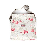 [캐스키드슨]Cathkidston cotton messenger bag wild strawberry folded (384148)
