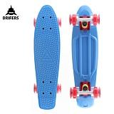 [드리퍼스] 22 DRIFERS LED 크루져보드 (블루/레드)-22인치 완제품 스케이트보드 스트릿 보딩