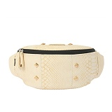 [�θ�ƽũ���]ROMANTIC CROWN - Anaconda Waist Bag_ivory